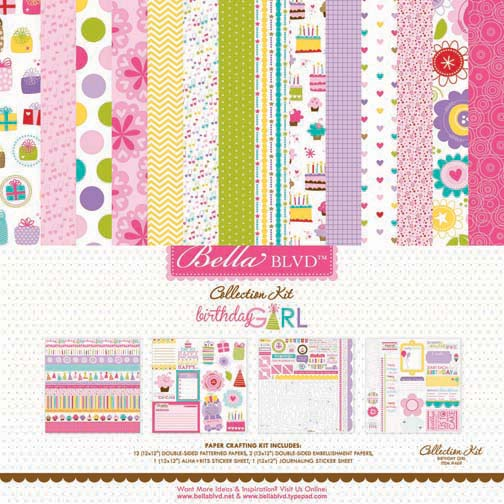 469 BIRTHDAY GIRL COLLECTION KIT