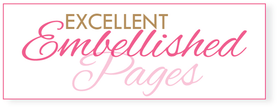 11 EXCELLENT EMBELLISHED PAGES WORKSHOP