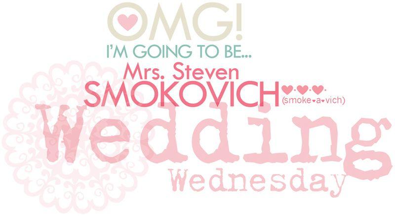 1 WEDDING WEDNESDAY