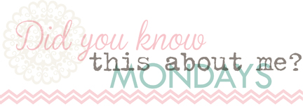 1 DID YOU KNOW MONDAYS