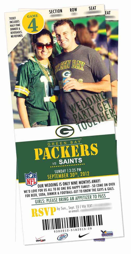 INVITE PACKER PARTY