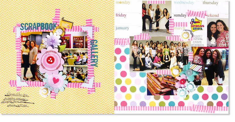 SCRAPBOOK GALLERY-LAYOUT