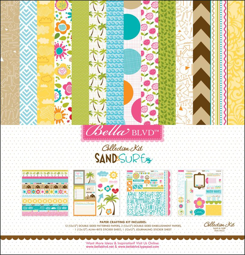 622 SAND AND SURF COLLECTION KIT