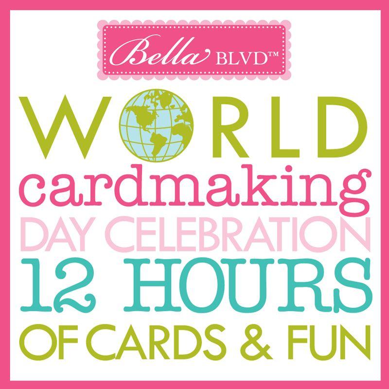 WORLD CARDMAKING DAY-BELLA 2013-INSTAGRAM