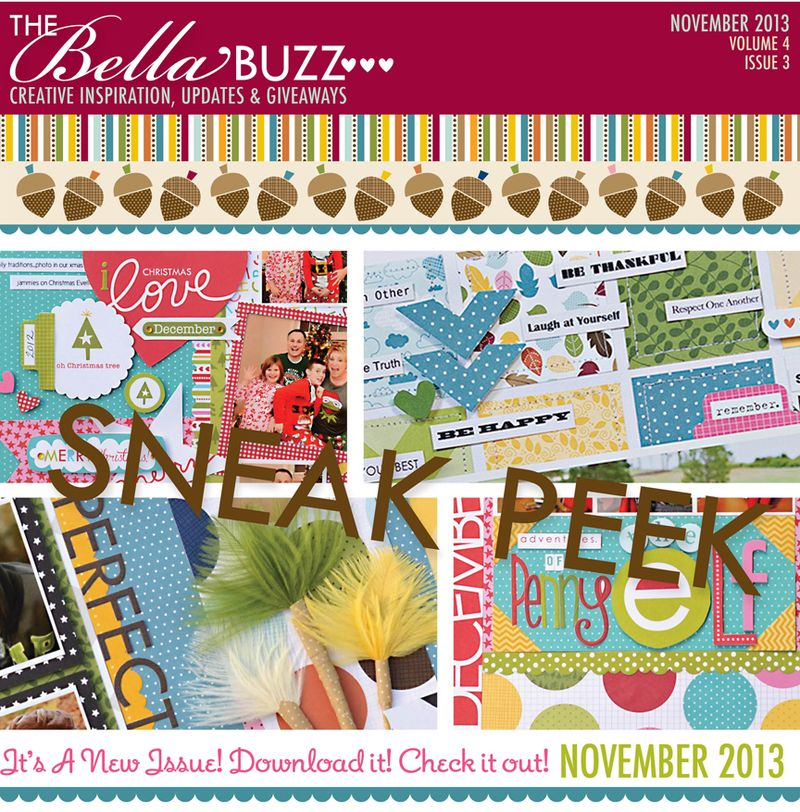 SNEAK PEEK NOV 2013