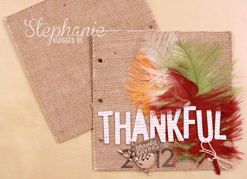 THANKFUL COVERS BURLAP